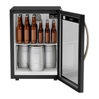 Cervejeira Vertical Esmaltec CBE110 114 Litros com Porta de Vidro Black