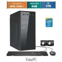 Computador Desktop Easypc 5772 Core I7 3.9GHz 8GB 2TB Windows 10