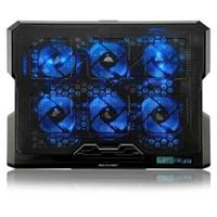 Cooler para Notebook Multilaser 6 Fans Led AC282 Azul