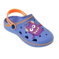 Sandália Crocs Menino Pop Wboys Monstrinho World Colors Azul