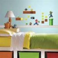Adesivo De Parede Super Mario Build A Scene Roommates
