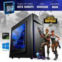 Computador CPU Core i3 8GB RAM GTX 1050 Ti 4GB 128 Bits 1000GB HDD YessTech Power Moba Box