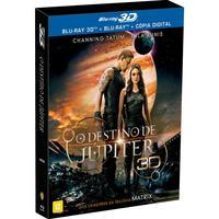 O Destino de Júpiter Blu-Ray 3D + Blu-Ray + Cópia Digital - Multi-Região / Reg.4