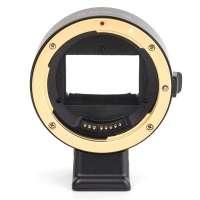 Adaptador de Lente Canon EF para Câmera Sony E-mount APS-C EOS-NEX III