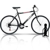 Bicicleta Caloi Aluminum 21 Marchas Aro 26 Preta + Suporte de Garrafa para  Acte Sport Bicicleta 060645aae2249