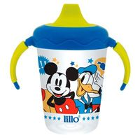 Caneca Lillo Antivazamento Disney Mickey Mouse 207ml