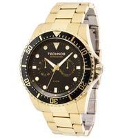 68183c7667f4c Relógio Technos Skymaster 6P25BF 4P Masculino Analógico Dourada - Preços  com até 29% de desconto   JáCotei