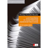 Licitações e Contratos Administrativos - Lei Nº 8.666/1993 - Teoria e Questões