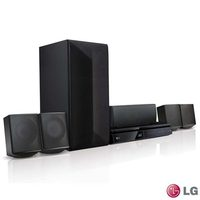 Home Theater LG com Blu-ray 3D 5.1 Canais e 1000 Watts LHB625M