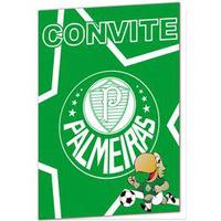Convite de Aniversário Yonifest Palmeiras 8 Unidades