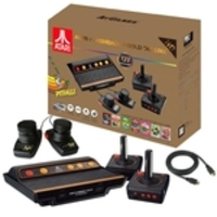 Console Atari Flashback 8 Gold Deluxe Classic Game c/ 4 controles + 120 jogos