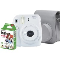 Câmera Instantânea Fujifilm Instax Mini 9 Branco E Gelo + Pack 10 Fotos