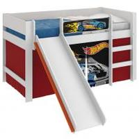 Cama Infantil Hot Wheels Play com Escorregador Pura Magia