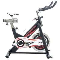 Bicicleta Ergométrica Houston Spinning Bike SP18C com Selim Preta
