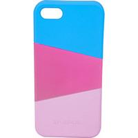 Capa para iPhone 5 Ismart Snap On Rosa Claro Rosa e Escuro Azul