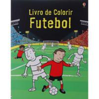 Livro De Colorir Futebol