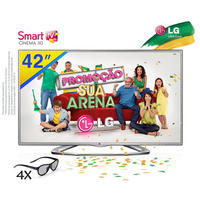 TV LED Smart 3D 42'' LG 42LA6204 + 4 Óculos (cópia de)
