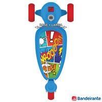 Patinete Skatenet Bandeirante Kid Azul