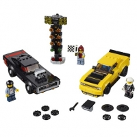 LEGO LEGO Speed Champions - Dodge SRT Demon 2018 e Dodge 1970 Charger