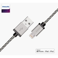 Cabo Usb Para Lightning Apple Philips Dlc2508n Prata