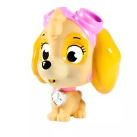 Boneco Patrulha Canina Hora do Banho Figura Skye Sunny