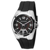 Relógio Masculino Technos Analógico Performance Racer - 2115KTI 8R -  Prata Preto 7f902e8d29