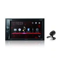 Dvd Player Automotivo Pioneer Avh-G228Bt 2Din 6,2 Polegadas Leitor Cd Bluetooth Usb Fm Aux + Câmera De Ré