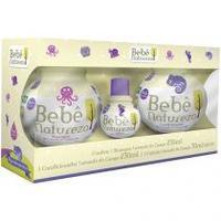 Kit Higiene Bebê Grandes Marcas Bebê Natureza - Lavanda do Campo 3 Unidades