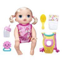 Boneca Baby Alive Hasbro Loira Hora Passeio