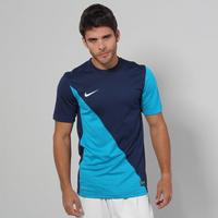 7feb90f246 Camisa Nike Harlequin Masculina Marinho e Azul