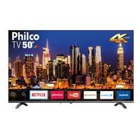 Smart TV LED 50 UHD 4K Philco PTV50Q20SNBL Preto