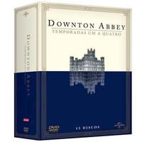 Downton Abbey 1ª a 4ª Temporadas 15 DVDs - Multi-Região / Reg.4