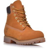 Bota Masculina Timberland Yellow Boot 6 Premium WP Marrom