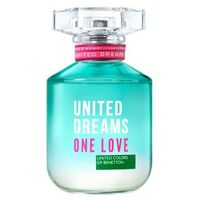 Perfume United Dreams One Love Her Benetton Feminino Eau de Toilette 80ml