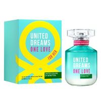 Perfume United Dreams One Love Her Benetton Feminino Eau de Toilette 80ml