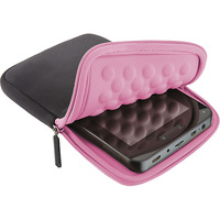 Case Multilaser Colors Neoprene Para Tablet 7'' Preto e Rosa