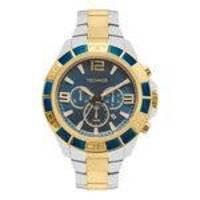 Relógio Technos Prateado e Dourado Masculino Classic Legacy JS25BK/5A
