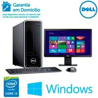 Computador Dell Inspiron 3647-C20M Core i3-4160 3.6GHz 4GB 1TB Windows 8.1 + Monitor Dell 18.5'' LCD LED E1914H