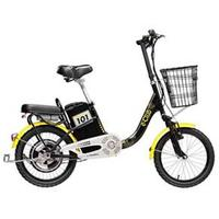 Bicicleta Elétrica Blitz E-Club Aro 18 Preto e Amarelo