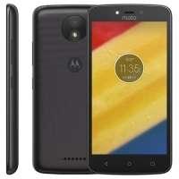 Smartphone Motorola Moto C Plus XT1726 8GB 5'' TV Digital Dual Chip Desbloqueado 4G Android 7.0 Preto + Película de Vidro Motorola