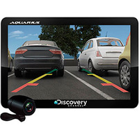 GPS Discovery Channel MTC3842 Slim 4.3'' TV + Câmera de Ré