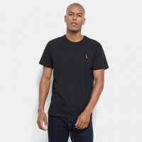 Camiseta Reserva Detalhe Bordado Masculina - Masculino