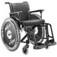 .cadeira Rodas Agile 46 Preta Jaguaribe