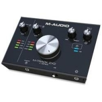 Interface de Gravação M-audio M-track 2x2 Usb 24bit 192khz
