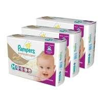 Fraldas Pampers Premium Care M Mega 144 Unidades