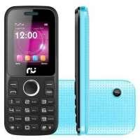 Celular Riu 1 Desbloqueado GSM Preto e Azul
