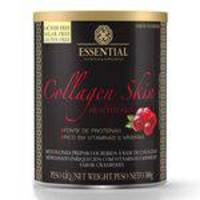Colágeno Essential Nutrition Collagen Skin Cranberry com 300g