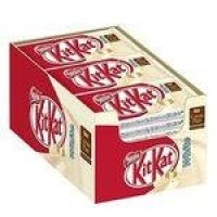 Chocolate Kikat Branco 41,5g C/24 - Nestle