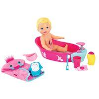 Boneca Mattel Little Mommy Brincadeira na Banheira