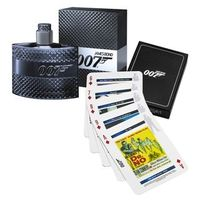 Kit Perfume Masculino James Bond 007 Eau de Toilette + Jogo de Cartas
